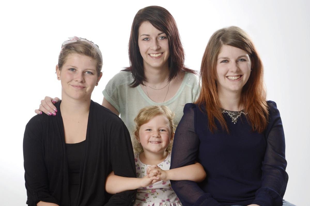 Familienfotos Chiemgau © Fotostudio Blauhorn in Prien