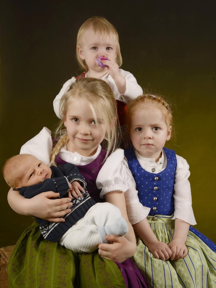 Porträtfoto Kinder © Fotostudio Blauhorn in Prien im Chiemgau